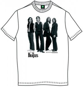 BEATLES ICONIC IMAGE WHITE T-SHIRT