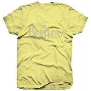 LADIES BEATLES LOGO YELLOW FASHION TEE