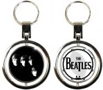 WITH THE BEATLES SPIN KEY CHAIN
