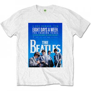 BEATLES EIGHT DAYS A WEEK WHITE TEE