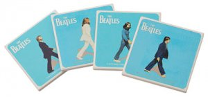 BEATLES ABBEY ROAD SET OF 4 COASTERS