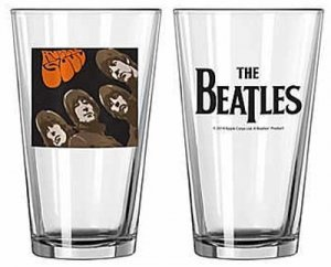 RUBBER SOUL PINT GLASS