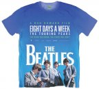 BEATLES EIGHT DAYS A WEEK WHITE SUBLIMATED TEE - XL