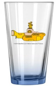 YELLOW SUBMARINE ELITE PINT GLASS