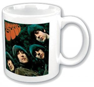 BEATLES RUBBER SOUL ALBUM COVER MUG