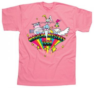 CHILD MAGICAL MYSTERY TOUR LT PINK T -9-10 YRS