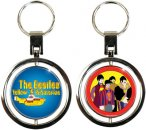 YELLOW SUBMARINE SPIN KEY CHAIN