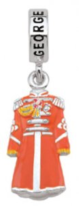 GEORGE SGT. PEPPER JACKET CHARM