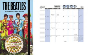 BEATLES 2018 DAY DREAM 2 YEAR POCKET PLANNER