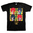 THE BEATLES FOUR PORTRAITS T-SHIRT