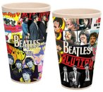 BEATLES ALBUM COLLAGE 2 PIECE 24 OZ BAMBOO CUPS - Last One