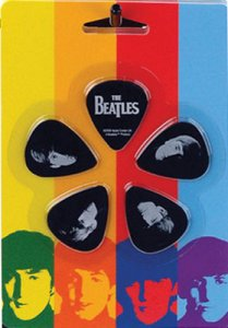 WITH THE BEATLES GUITAR PICK SET