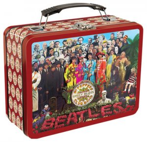 SGT. PEPPER LARGE TIN TOTE - Delayed Release- Due by Mid Jan.
