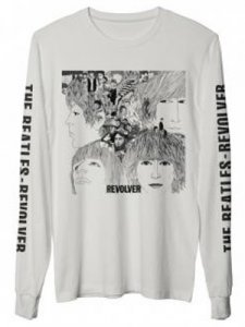 BEATLES REVOLVER LONG SLEEVE FASHION TEE - Medium