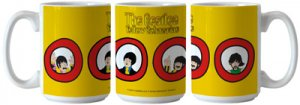 YELLOW SUBMARINE PORTHOLES SUBLIMATED MUG
