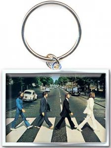 ABBEY ROAD RECTANGULAR KEY CHAIN