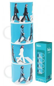 ABBEY ROAD SET OF 4 10 Oz STACKING MUGS