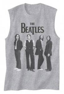 BEATLES ICONIC STANCE MUSCLE TEE