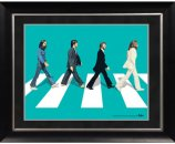 "BEATLES GREEN ABBEY ROAD IMAGE 11"" x 14"" FRAMED"