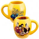 YELLOW SUBMARINE 18 OZ OVAL CERAMIC MUG