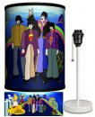 BEATLES YELLOW SUB THE BOYS LAMP-WHITE SPORT BASE