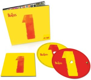 "THE BEATLES ""1"" TWO DISK SET CD + DVD"