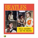 BEATLES HELLO GOODBYE LITHOGRAPH - UNFRAMED