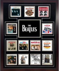 THE BEATLES U.S. ALBUM DISCOGRAPHY COLLAGE