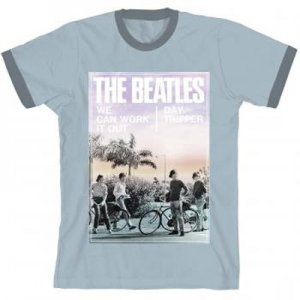 BEATLES DAY TRIPPER RINGER T-SHIRT