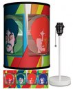 BEATLES YELLOW SUB SEA OF SCIENCE LAMP-WHITE SPORT BASE