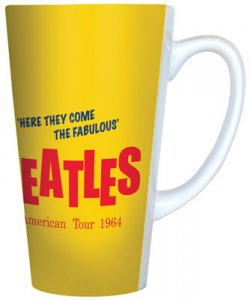 BEATLES AMERICAN TOUR LATTE MUG