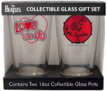BEATLES LOVE 2 PINT SET
