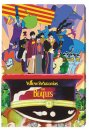 YELLOW SUBMARINE COLLAGE CANVAS WALL DECOR