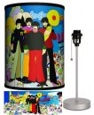 BEATLES YELLOW SUB WITH INSTRUMENTS LAMP-SILVER SPORT BASE