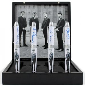 LIVERPOOL COLLECTIBLE BEATLES PEN SET