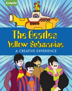 YELLOW SUBMARINE - A CREATIVE EXPERIENCE COLORING BOOK-Save 25%