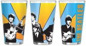 THE BEATLES BAND SUBLIMATED PINT
