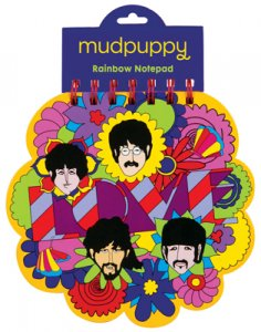 THE BEATLES YELLOW SUBMARINE RAINBOW NOTEPAD