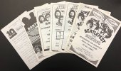 SET OF ORIGINAL BEATLEFEST PROGRAM BOOKS 1974-1977