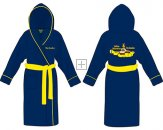 YELLOW SUBMARINE FLEECE BATHROBE