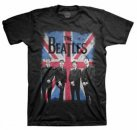 BEATLES UNION JACK PHOTO T-SHIRT