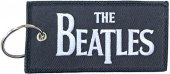 BEATLES DROP T LOGO PATCH KEYCHAIN