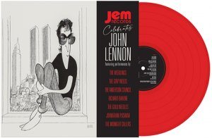 JEM RECORDS CELEBRATES JOHN LENNON - RED VINYL LP