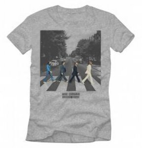 YOUTH ABBEY ROAD GRAY TEE - MEDIUM