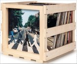 ABBEY ROAD STACKABLE RECORD STORAGE CRATE