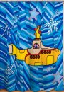 BEATLES YELLOW SUBMARINE SHOWER CURTAIN