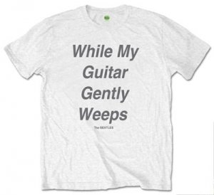 "BEATLES ""WHILE MY GUITAR GENTLY WEEPS"