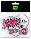 BEATLES LOVE ME DO CAR MAGNET