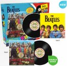THE BEATLES SGT PEPPER DOUBLE SIDED 600 PIECE PUZZLE