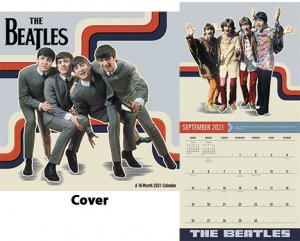 "BEATLES 2021 MEAD 12"" X 12"" WALL CALENDAR"